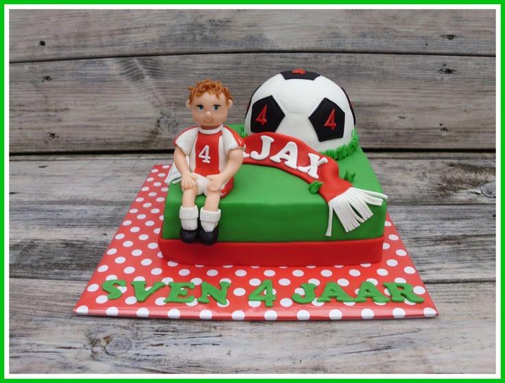 Ajax taart voor Sven