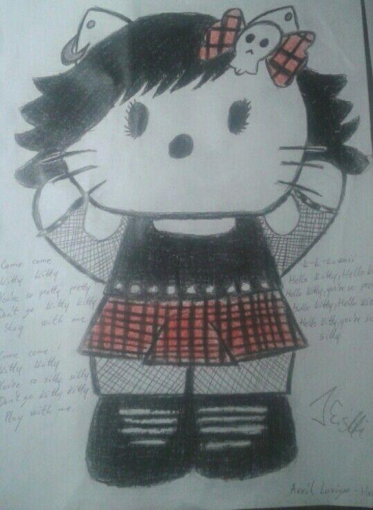Come come Kitty Kitty You're so pretty pretty... (Avril Lavigne - Hello Kitty)