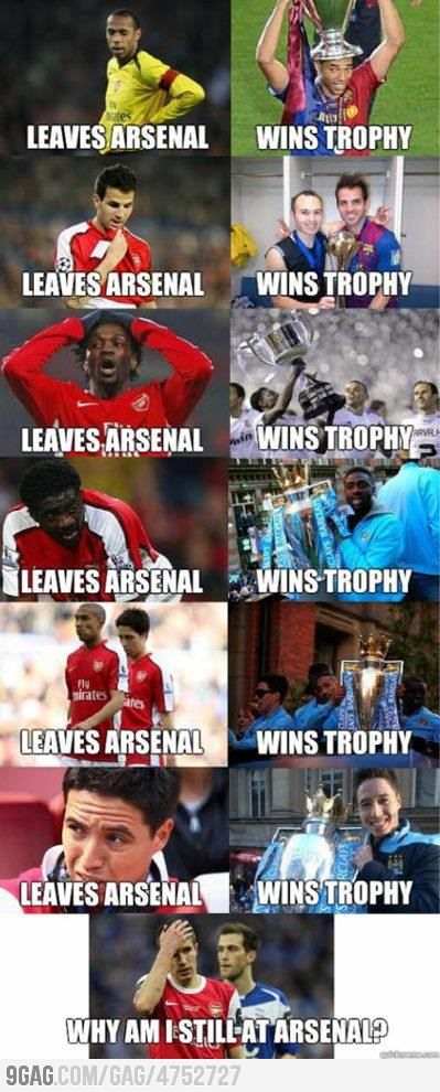 Every Team Has It's Ups And Downs But Think About It Arsenal Is Way Better Now