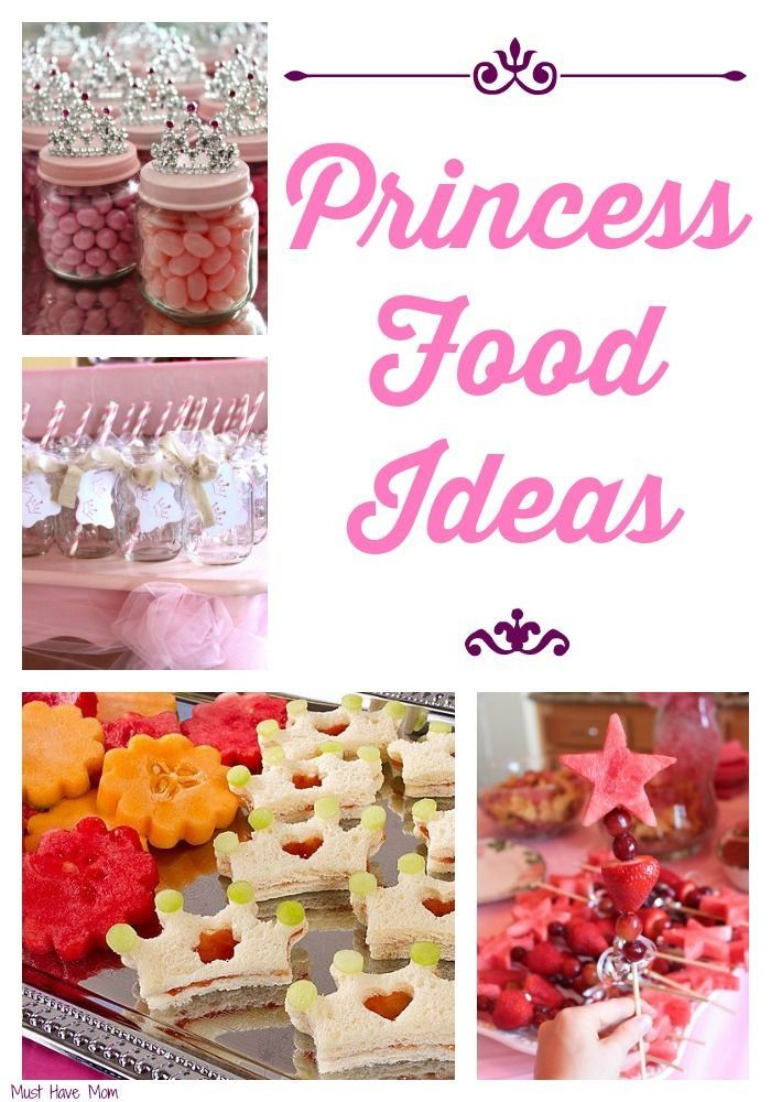 Have A Feast Fit For Princess Food Ideas