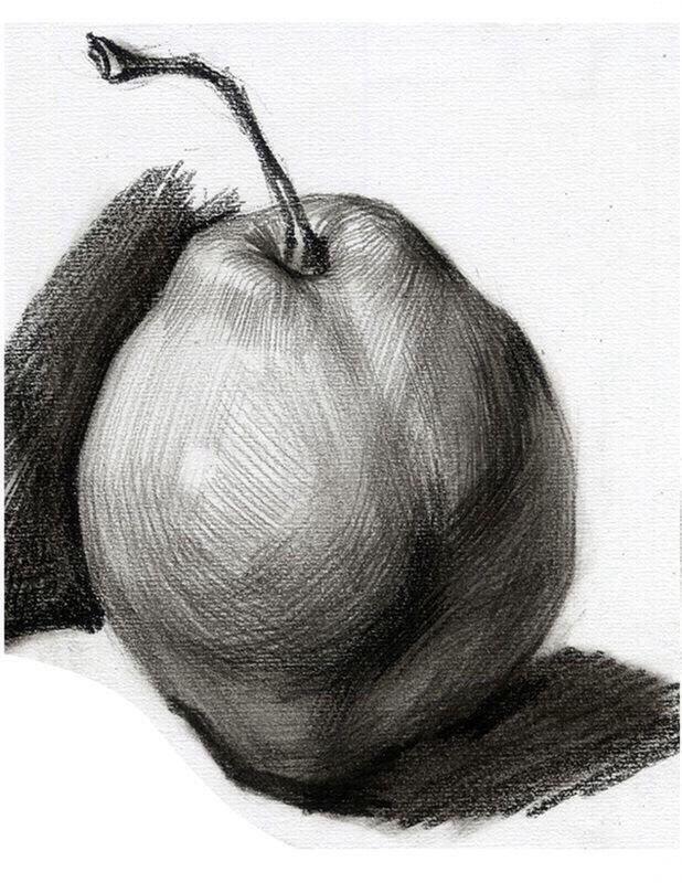 лоферы яблоко и груша картинки карандашом испании неповторимом