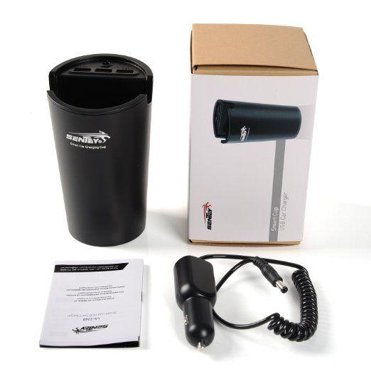 Amazon.com:車の充電器USBとスタンド3ポート29ワット車のカップの充電器Sentey LS-2240車用スタンド付きスマート大容量カップ充電器のUSB充電器 - 車の充電スタンド - 自動車用の充電器カップ - USB車の充電器 - ライガー車の充電器を - iPadの充電器スタンド - iphoneの充電器は、高速アップルのiPhone 6 6プラス5S 5C 5の充電[ハイパワー]のAcトラベル壁の充電器[高速]をスタンド。 iPadの空気; iPadのエアミニ(Retinaディスプレイ); iPadの4; iPad2の。 サムスンギャラクシーS5 S4 S3; 注2及び注3。 新しいHTC One(M8)。 Googleのネクサスと詳細[ブラック]無料トランスポートまたは保護ポーチポータブル充電器バンドル:携帯電話&アクセサリー