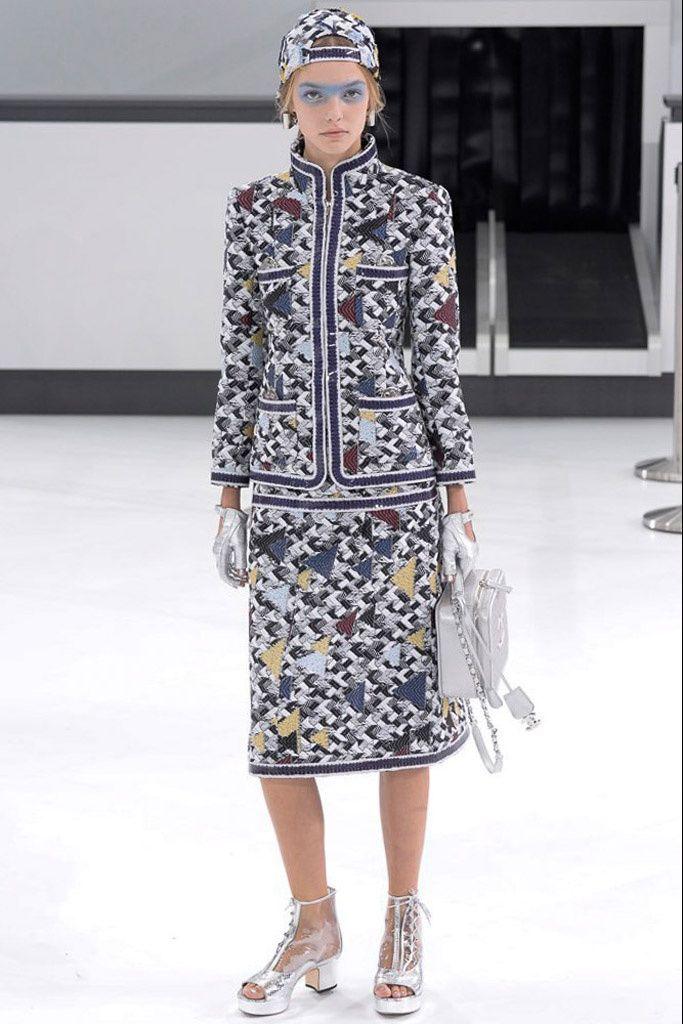 Chanel Pret A Porter Primavera Verano 2016 (Paris Fashion Week)