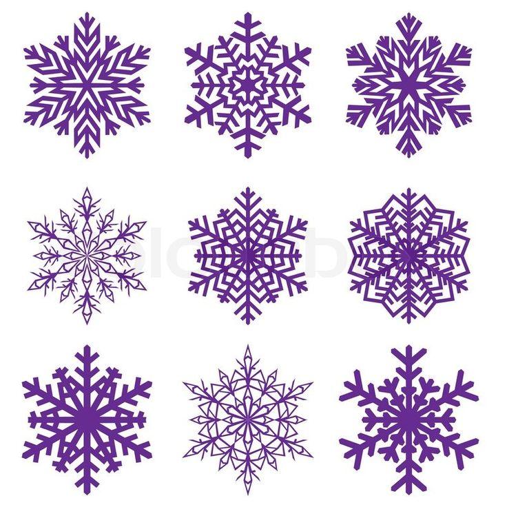 Stock-Vektor von 'Dekorative Schneeflocke Vector illustration'