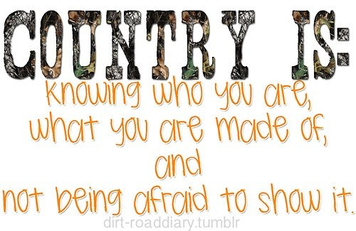 fake country girls don't know this now, do they?