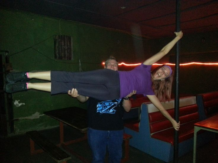 'assisted' pole dancing @ Wiesbaden