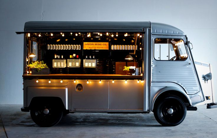 Wine truck food cart citroen