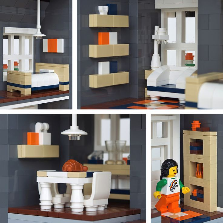 Lego Moc Townhouse   Google Search