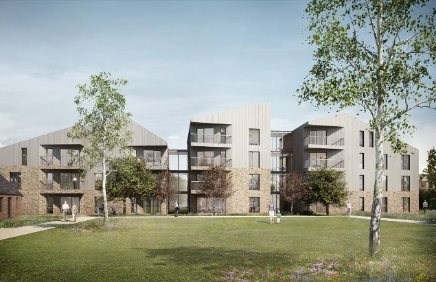 Elderly housing in Derry Avenue, South Ockendon, Thurrock, by Bell Phillips Architects