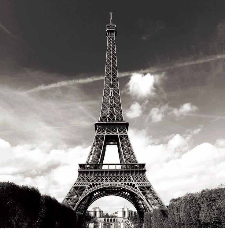 "Paris Eiffel Tower Scenery Design Shower Curtain Bathroom Waterproof Fabric 71"""