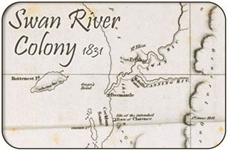 """Fremantle: """"The Swan River Colony"""""""