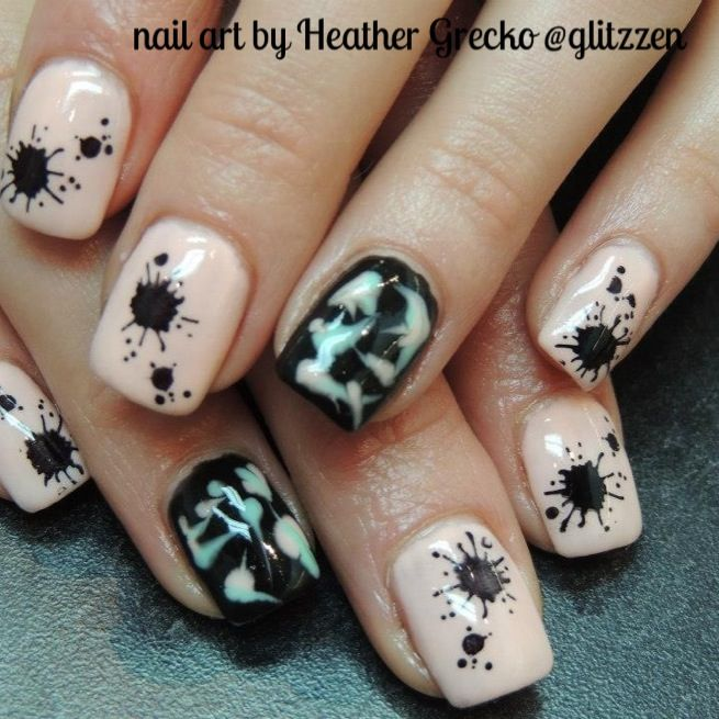 16 Best LCN Gel Nails   Glow In The Dark Nail Art Images On .