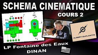 Dessin industriel - Motoréducteur 2 - Schéma cinématique - - YouTube