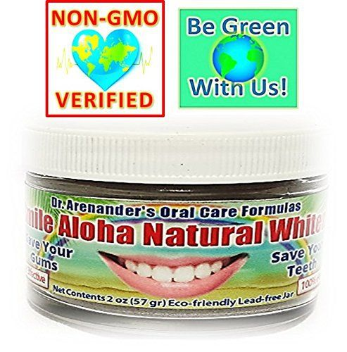 "Product review for Smile Aloha Natural Whitener  - PRODUCT DESCRIPTION The testimonial we get the most: ""I had the best dental check-up of my life after using Dr. Arenander's Oral Care Formulas"". We specialize in using the best of modern research and ancient medicine in our effective formulas. Our ingredients promote gum health..."