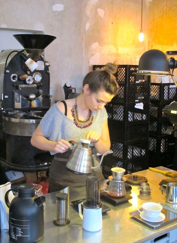 Bonanza Coffee is one of the city's top addresses. Everything here is about great coffee and nothing else. A True experience!