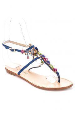 Le Capresi Kadın Mavi Sandalet #modasto #giyim #moda https://modasto.com/le-capresi/kadin/br30106ct2