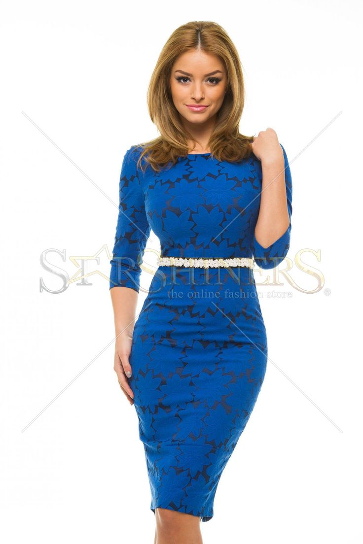 StarShinerS Stylish DarkBlue Dress
