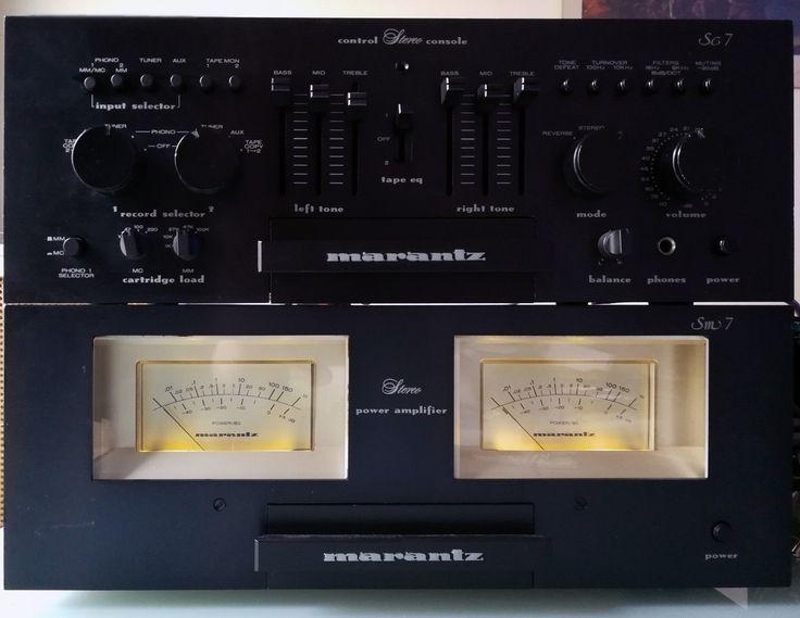 Marantz Esotec SM-7 / SC-7 Amplifier