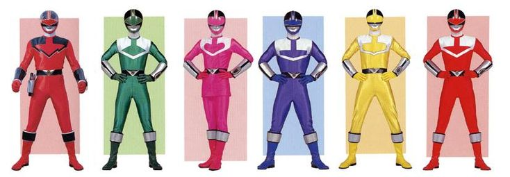 Time Force Power Rangers by planeteer1988 on deviantART