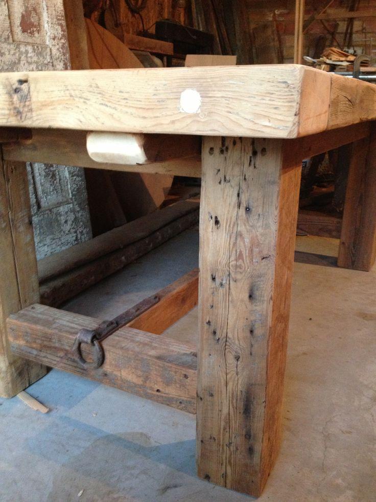 Slabs Table Leg Idea