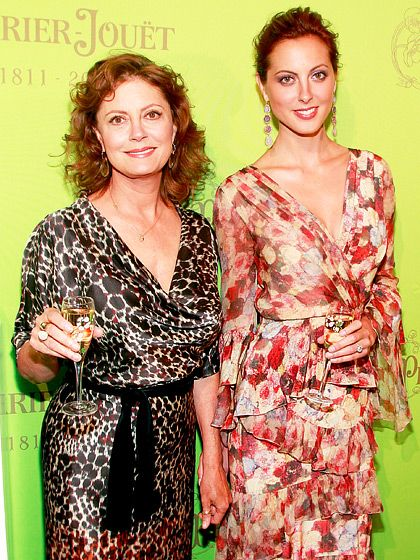 This is pretty interesting Celebrities and Their Lookalike Kids: Susan Sarandon and Eva Amurri