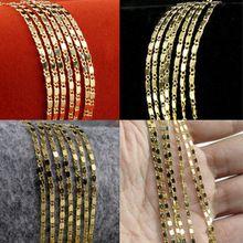 925 joyería de plata esterlina de 18 K oro hombre collar de cadena de joias ouro 18 K cadena Femme corrente de prata masculina(China (Mainland))