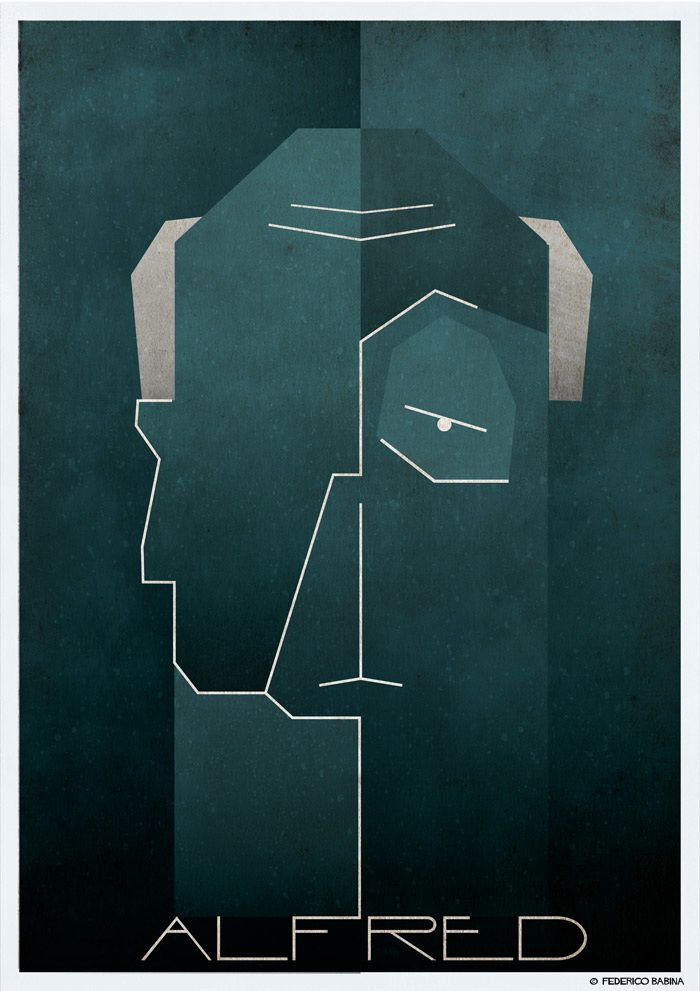 Alfred Hitchcock || Federico Babina || http://federicobabina.com/