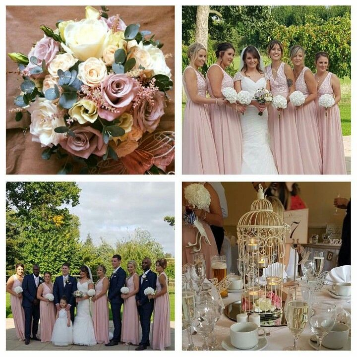 My beautiful wedding! Blush and navy colour scheme! #wedding #colourscheme #blushandnavy
