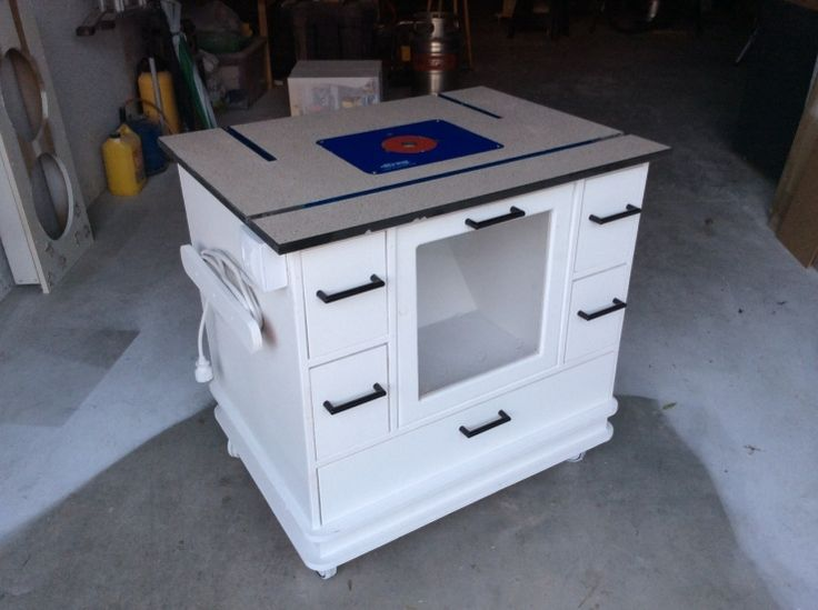 264 best kreg jig projects images on pinterest for Ana white router table
