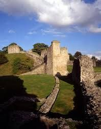 The 13th century Pickering castle, North Yorkshire, UK