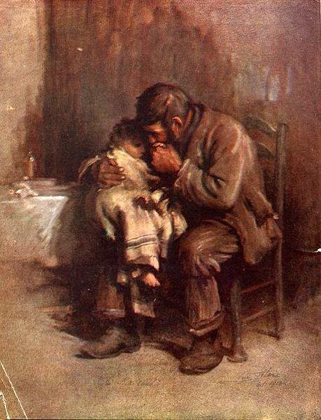 Motherless-Luke Fildes