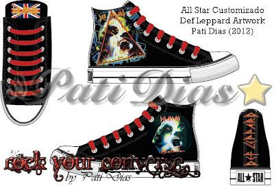 b7ae304c442 Converse All Star Customizado - Rock Your Converse!: Def Leppard ...