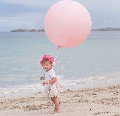 Baby girl boho 1st birthday pink and gold chevron tutu set with flower crown! 1st birthday on the beach!
