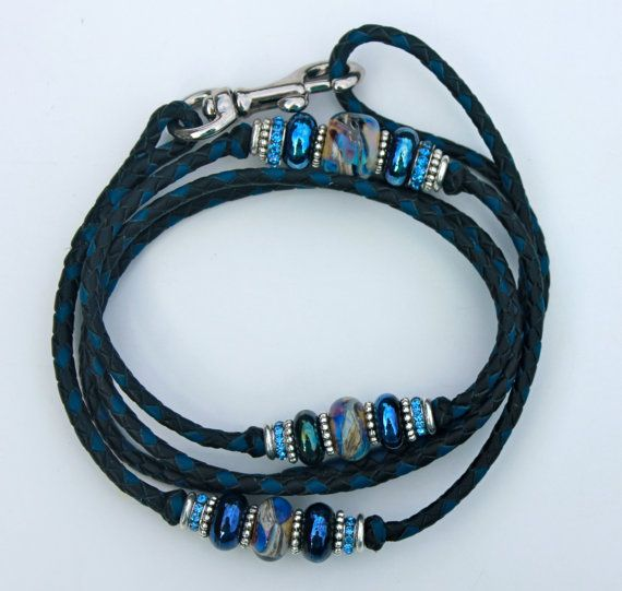 how to make dog show leads with beads