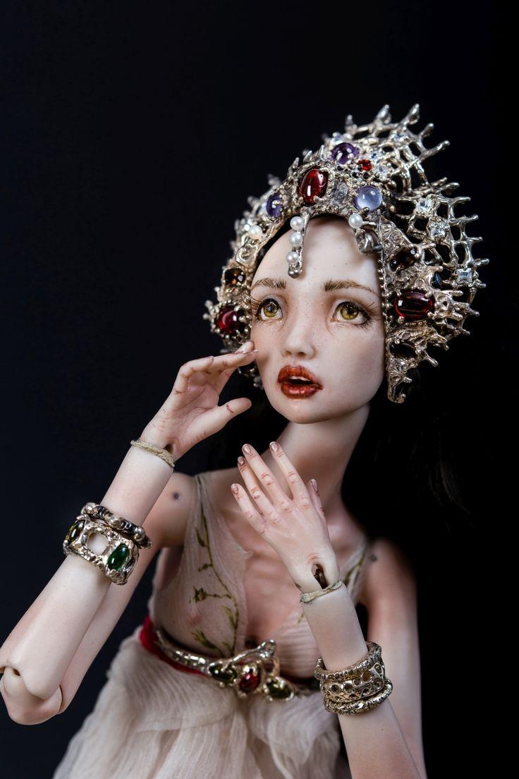 BJD porcelain doll by Olga Good