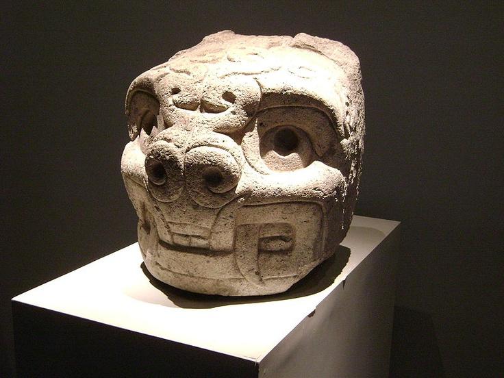 Cabeza clava sin nombre, Museo Nacional Chavín de Huantar.