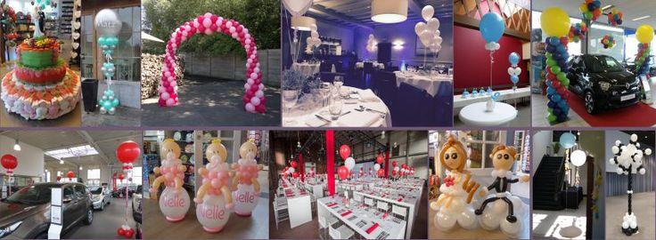 Reuze-ballon, handgemaakte decoratie, ballonnen, helium, ronde ballon, ballonshop Dendermonde www.kadooken.be