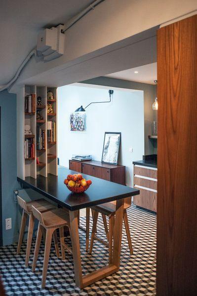 les 25 meilleures id es de la cat gorie cuisine parisienne sur pinterest cuisines la. Black Bedroom Furniture Sets. Home Design Ideas