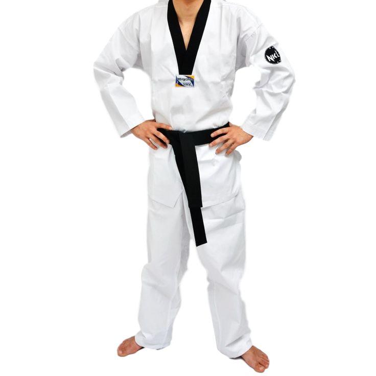 "Dobok Taekwondo NKL ""SUWON MASTERCLASS"" - €20.50   https://soloartesmarciales.com    #ArtesMarciales #Taekwondo #Karate #Judo #Hapkido #jiujitsu #BJJ #Boxeo #Aikido #Sambo #MMA #Ninjutsu #Protec #Adidas #Daedo #Mizuno #Rudeboys #KrAvMaga #Venum"