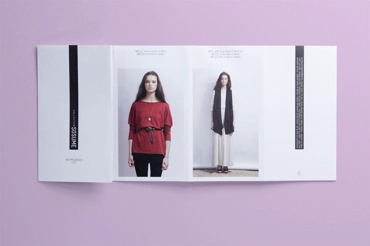 studio worldwide   sosume lookbook