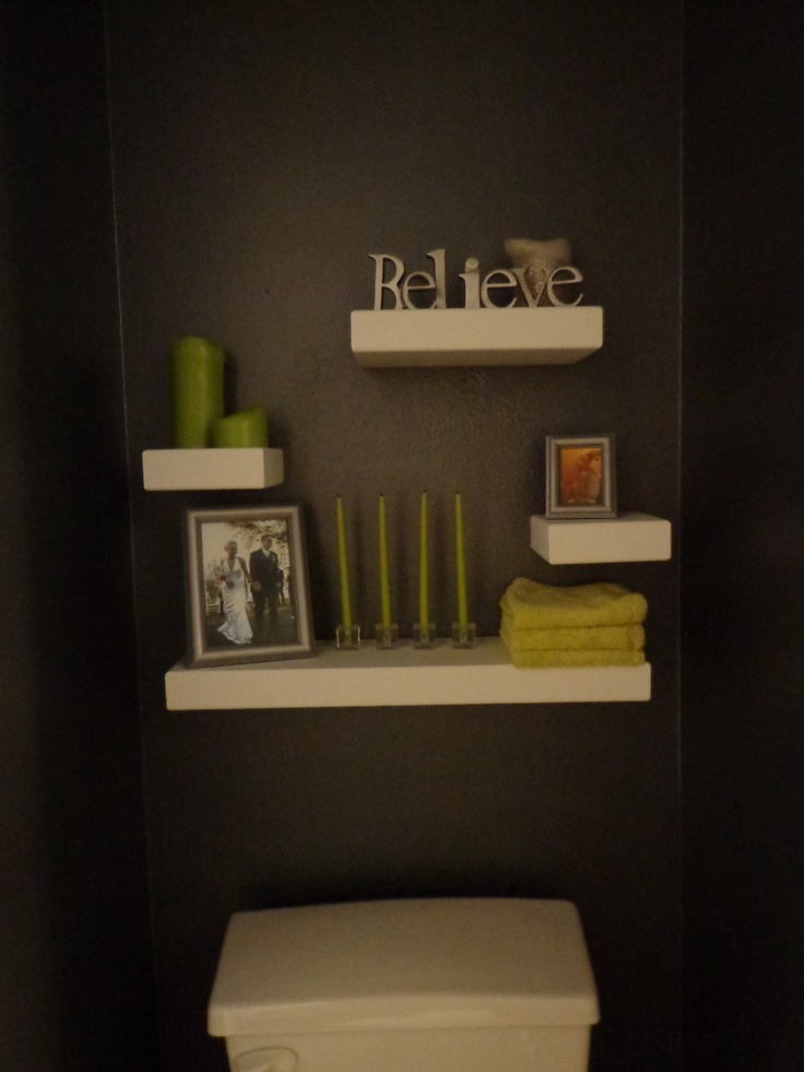 Floating Shelves Above The Toilet Bathroom Ideas Pinterest