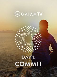 Commit to a life of presence and well-being by learning to be in the Here and Now with this 21-day meditation guide. Unwind the nervous system and prepare the mind for meditation with this relaxation practice, a gift to your own well-being. #MeditationChallenge #GaiamTV #MyYogaOnline