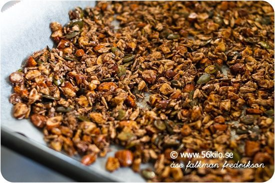 Granola Frukost svensk recept