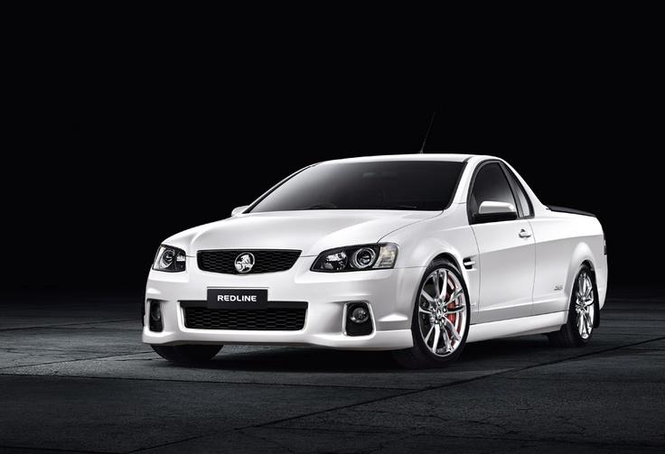 Holden Sportwagon - Redline - Holden.com.au 6.0L V8 430hp 545Nm Newborn El Camino :)