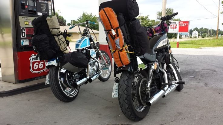 Show me your bike ~ set up for camping! - Page 10 - The Sportster and Buell Motorcycle Forum