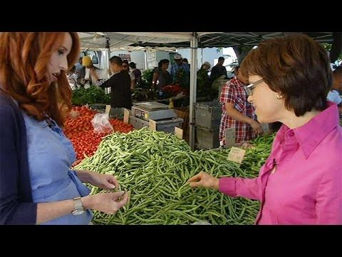 Timaree's in the kitchen on California Bountiful TV - Grrrrreat Green Beans! - The Nutrition Professor