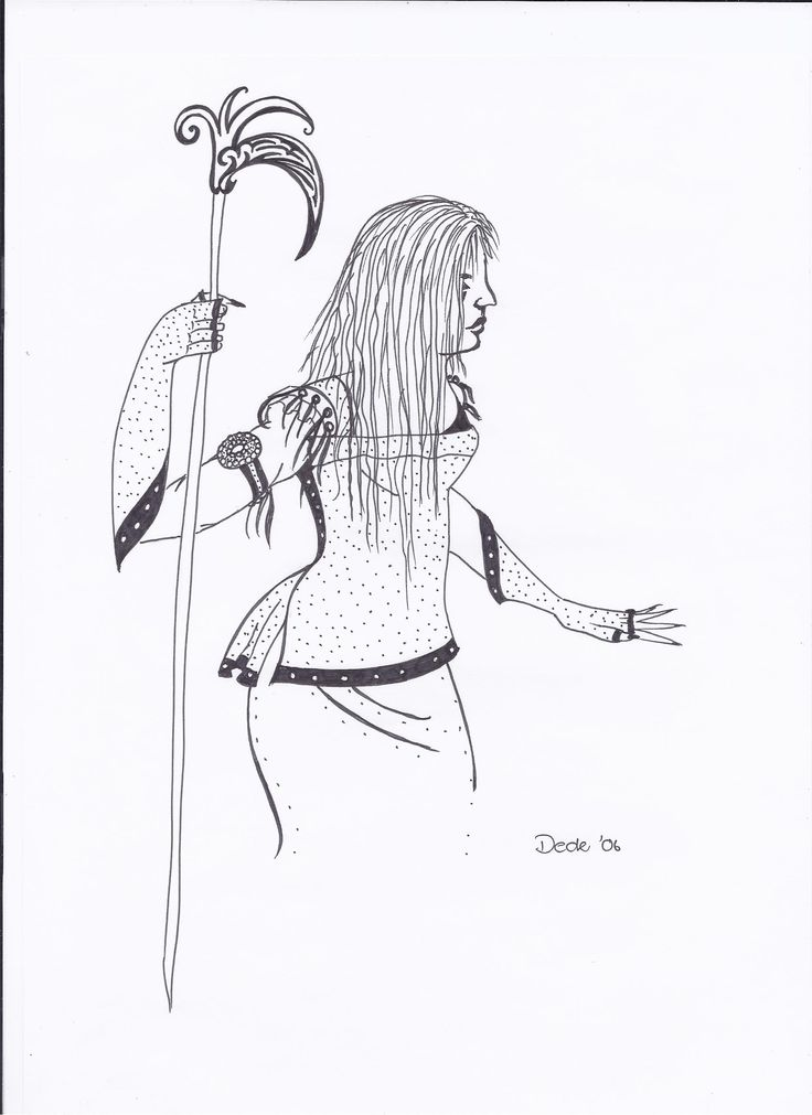 amazon woman in lack ink