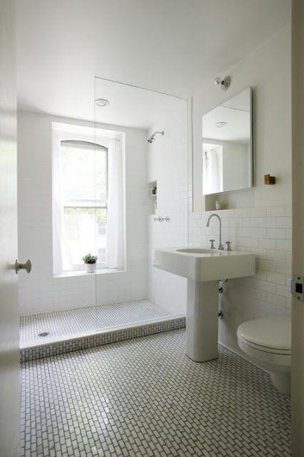 the Polished Pebble: The Modern Vintage Bathroom