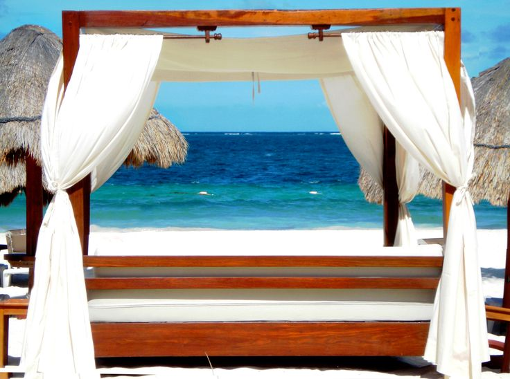 Feel like chilling out here?  #Caribbean #Vacation #Cancun #RivieraMaya #Mexico  Excellence Riviera Cancun
