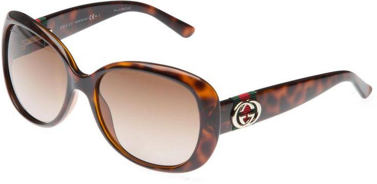 Gucci Oval Women's Sunglasses - Havana GG 3644/S DWJ HA-56-17-140 price, review and buy in UAE, Dubai, Abu Dhabi | Souq.com